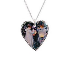 GC Sargent Lily Necklace Heart Charm