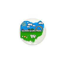 Gloria Glens Park Mini Button