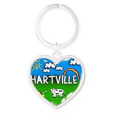 Hartville Heart Keychain