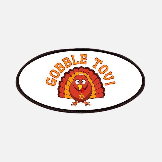 Gobble Tov Thanksgivukkah Turkey Patches