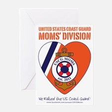 USCG MOMS V2 Approved Greeting Card