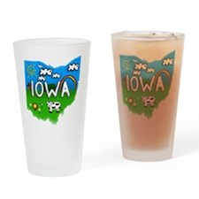 Iowa Drinking Glass