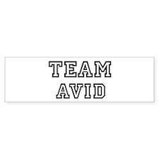 Team AVID Bumper Bumper Sticker
