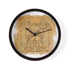 2012_vitruvian Wall Clock