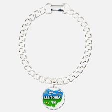 Leetonia Charm Bracelet, One Charm