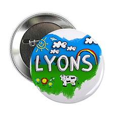 """Lyons 2.25"""" Button"""