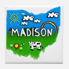 Madison Tile Coaster