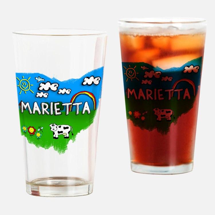 Marietta Drinking Glass