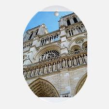 Notre Dame Oval Ornament
