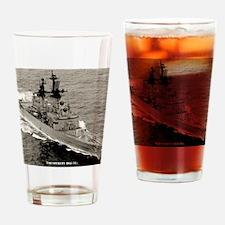 sterett dlg framed panel print Drinking Glass