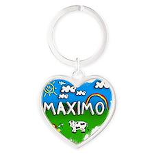 Maximo Heart Keychain