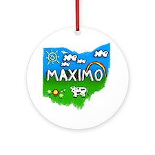 Maximo Round Ornament