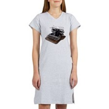 typewriter Women's Nightshirt
