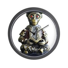 Monkey Scholar Wall Clock