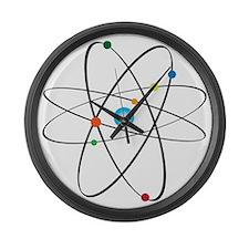 atom Large Wall Clock