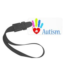 stop autism 2 Luggage Tag