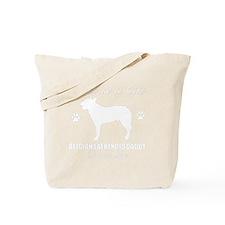 BELGIAN LAEKENOIS DAD WHITE Tote Bag
