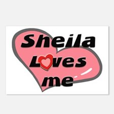 sheila loves me  Postcards (Package of 8)