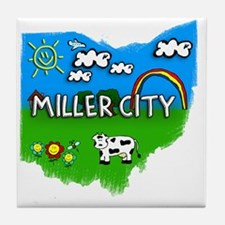 Miller City Tile Coaster