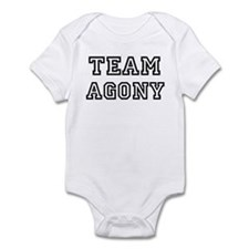 Team AGONY Infant Bodysuit