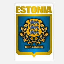 Estonia (Gold Label) Postcards (Package of 8)