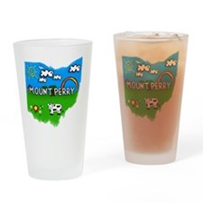 Mount Perry Drinking Glass