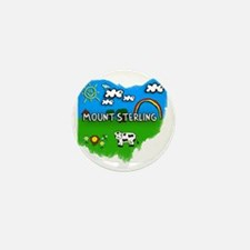 Mount Sterling Mini Button