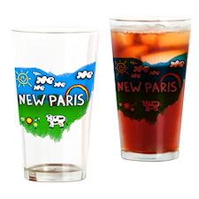 New Paris Drinking Glass
