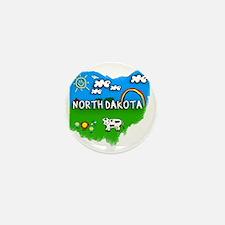 North Dakota Mini Button