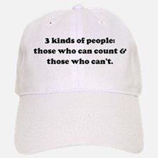3 kinds of people: those who Baseball Baseball Cap