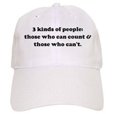 3 kinds of people: those who Baseball Cap