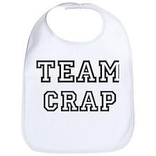 CRAP is my lucky charm Bib
