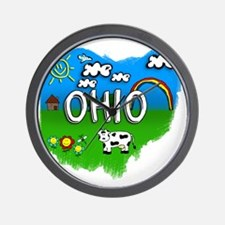 Ohio Wall Clock