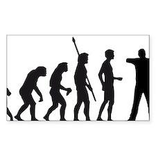 Evolution BogenschieÃ?en Decal
