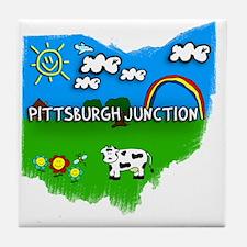 Pittsburgh Junction Tile Coaster