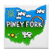 Piney Fork Tile Coaster