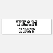 COZY is my lucky charm Bumper Bumper Bumper Sticker