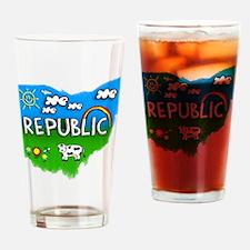 Republic Drinking Glass