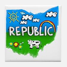 Republic Tile Coaster