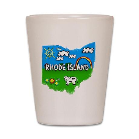 Rhode Island Shot Glass