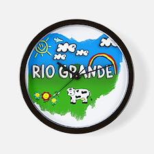 Rio Grande Wall Clock