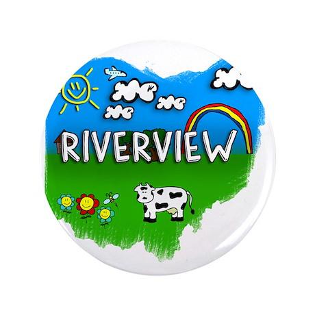 """Riverview 3.5"""" Button"""