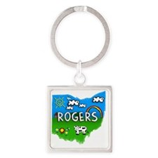 Rogers Square Keychain