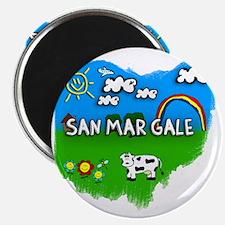 San Mar Gale Magnet