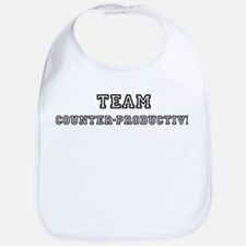 COUNTER-PRODUCTIVE is my luck Bib