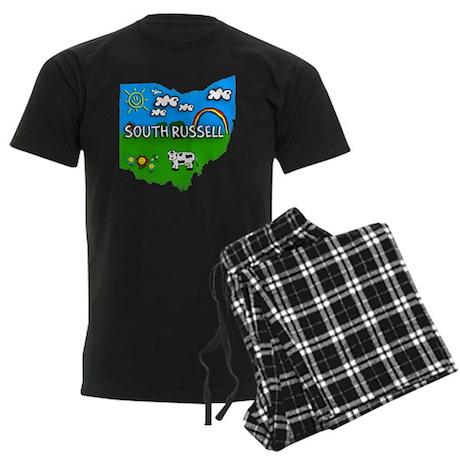 South Russell Men's Dark Pajamas