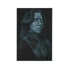 Oscar Wilde Rectangle Magnet