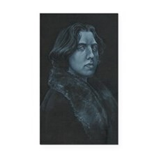 Oscar Wilde Rectangle Car Magnet