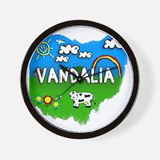 Vandalia Wall Clock