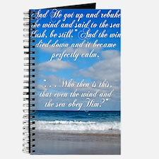 sky and Sea Card Journal